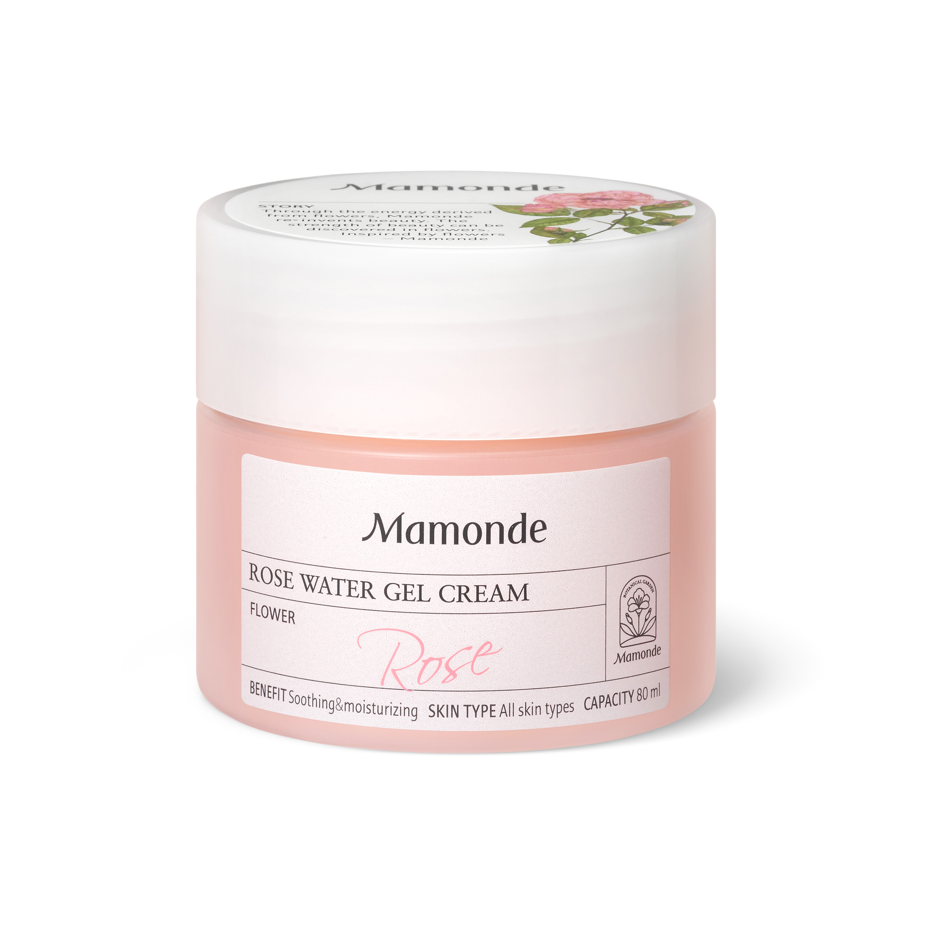 Mamonde Skin Care ROSE WATER GEL CREAM - Moisturizing Cream, Skin Soothing