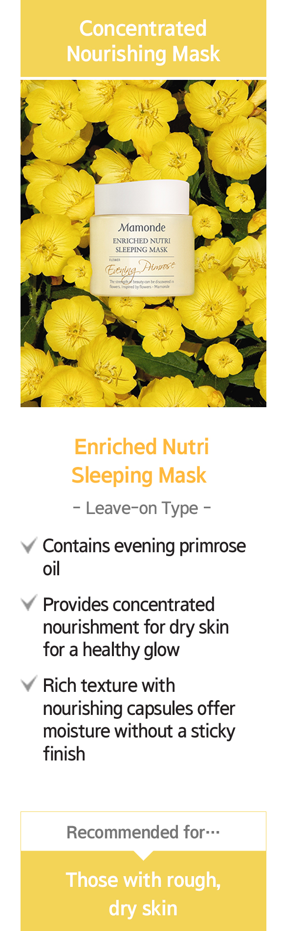 enriched nutri sleeping mask detail link