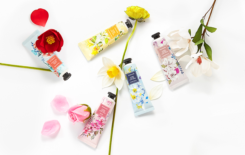 FLOWER SCENTED HAND CREAM