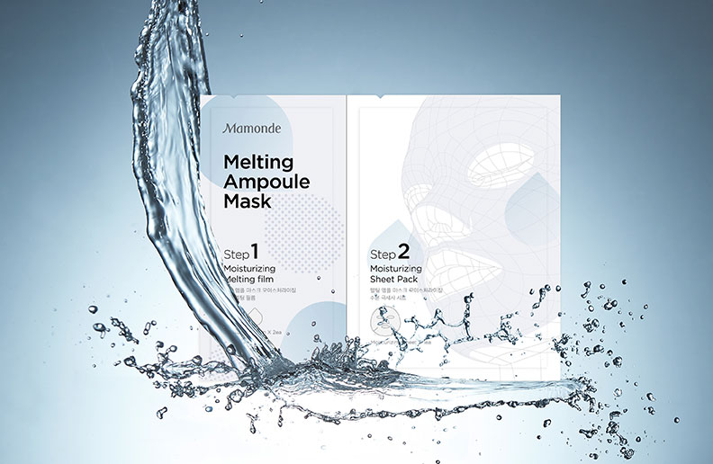 MELTING AMPOULE MASK - soothing
