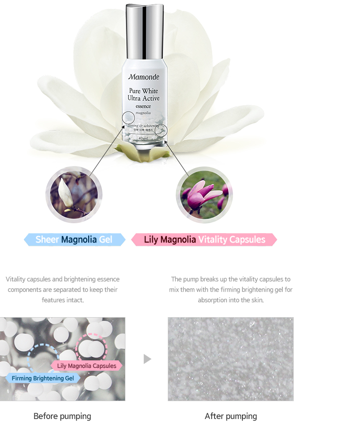PURE WHITE ULTRA ACTIVE ESSENCE Main Features image