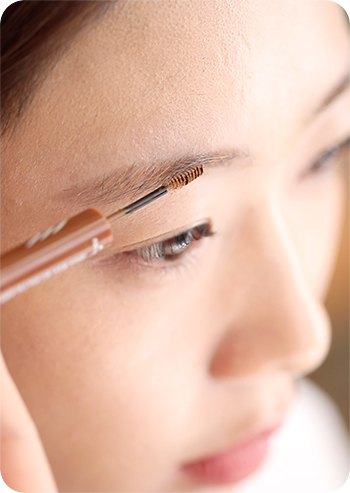 Two Step Perfect Brow Powder drawing eyebrows step 2