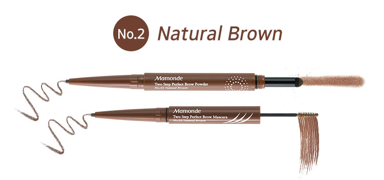 Two Step Perfect Brow Powder 2호 Natural Brown